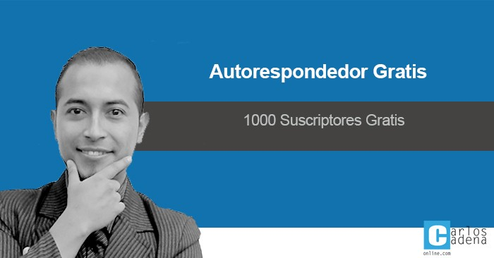 Autorespondedor Gratis 100% Efectivo Para Email Marketing